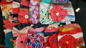 a lot of cloche hats toddler